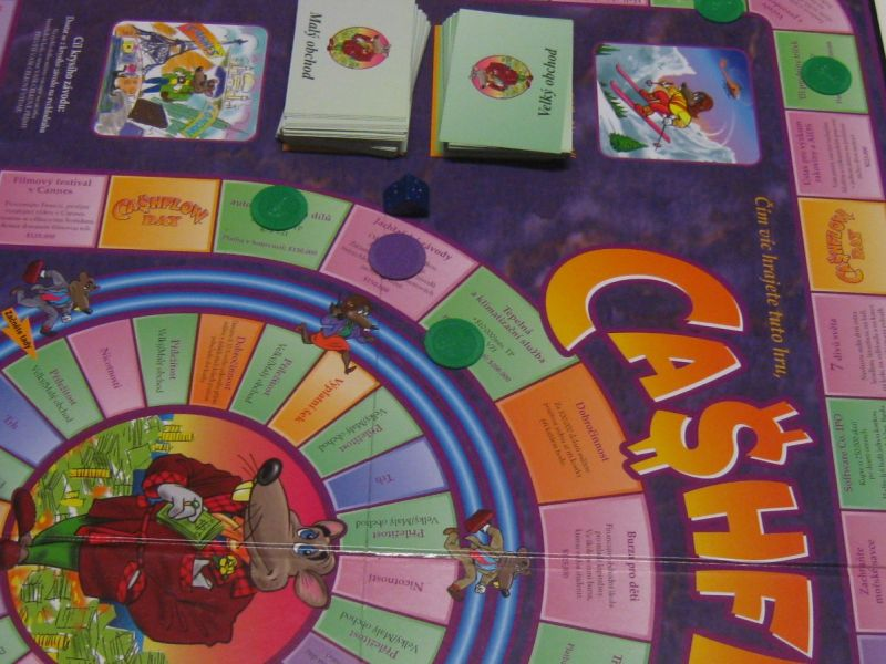 Co je Cashflow hra? Proč ji hrát?