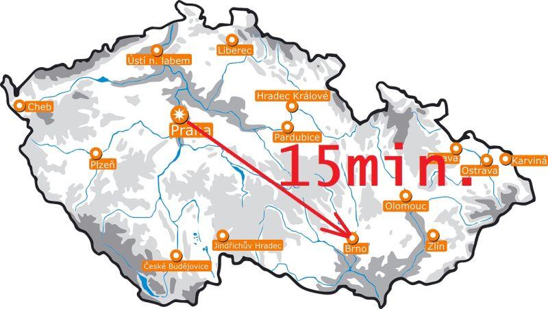 Z Prahy do Brna za 15 minut! Hyperloop je řešením