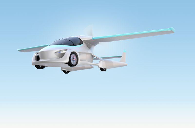 Létající auto je efektivnější a šetří čas