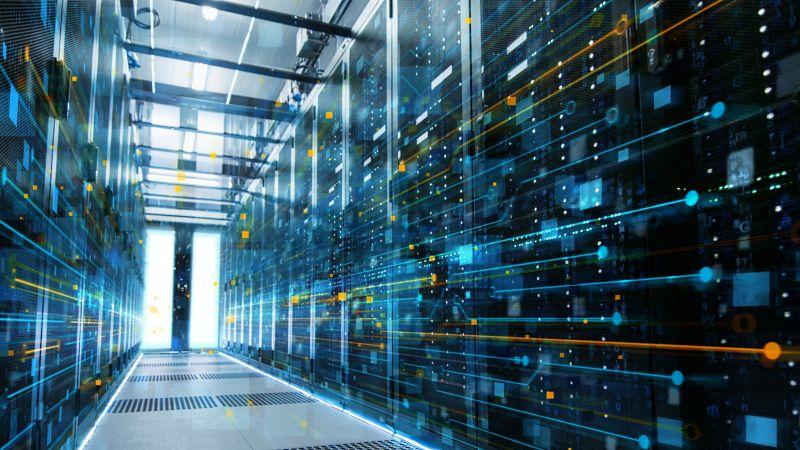 Datacentra - těžba kryptoměn, potvrzování transakcí